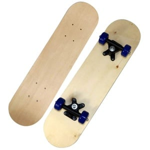 Komplette Skateboards DIY Freehand Skateboards Doppel konkave Skateboards Natürliches Skate Deck Board Skateboards Deck Holz Ahorn für Anfänger Graffiti für Jungen Mädchen Kinder (B,60 cm)