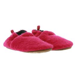 MAXIMO maximo Filz-Schuhe bequeme Baby Haus-Schuhe mit Gummizugbund Lauflern-Schuhe Pink Lauflernschuh 27