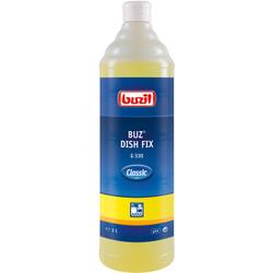 Buzil Spülmittel Buz® Dish Fix G 530 , Neutrales Handgeschirrspülmittel mit angenehmen Duft, 1 Liter - Flasche