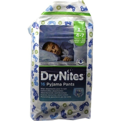 Huggies Dry Nites Jungen 4-7Jahre