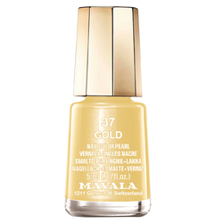 Mavala Nagellack 37 Gold 5 ml