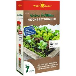 WOLF-Garten Pflanzendünger Natura-Bio N-HB 1,9, Granulat, 1,9 kg