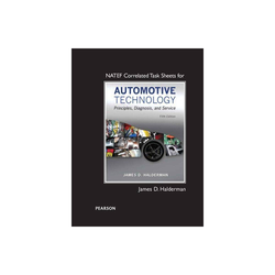 Natef Correlated Task Sheets for Automotive Technology - 5th Edition by James Halderman (Paperback)