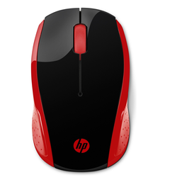 HP 200 Funkmaus, rot
