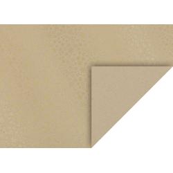 VBS Motivpapier Kristalle, 70 cm x 50 cm goldfarben