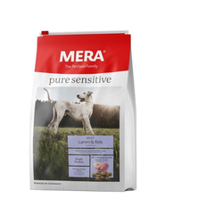 MeraDog Pure Sensitive Lamm & Reis 4kg