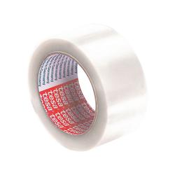 tesa Klebeband 4124 Packband, UV- und alterungsbeständig weiß 5 cm x 6600 cm