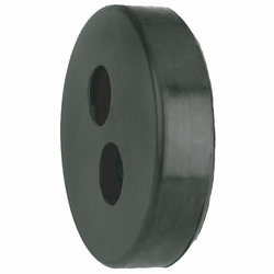 AUSTROFLEX Gummi-Endkappe double für AustroPUR Fernwärmeleitung Doppelrohr (Größe wählen: Doppelrohr 50 mm - Außenmantel 200 mm)