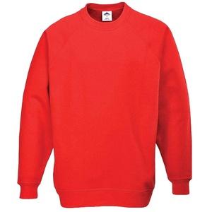 Portwest B300RERS Rom Sweatshirt, Rot, Größe S
