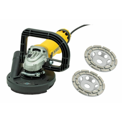 DeWalt Winkelschleifer DEWALT BETONSCHLEIFER-SET / SANIERUNGSFRÄSE-SET / WINKELSCHLEIFER-SET 1400W 125MM #326