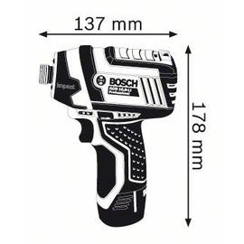 Bosch GDR 12V-105 Professional ohne Akku 06019A6901