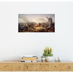 Posterlounge Wandbild, Die Völkerschlacht bei Leipzig 1813 80 cm x 40 cm