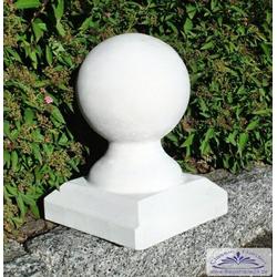 AL-K1 Betonkugel Kugel für Gartendeko und Pfeilerabdeckung 17cm Höhe 29cm