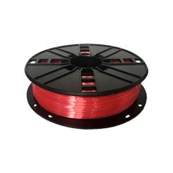 WhiteBOX 3D-Filament Seiden-PLA rot mit Perlglanz 1.75mm 500g Spule