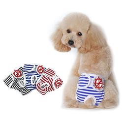 kueatily Hundewindel Hundewindeln 3 Stück Waschbare Inkontinenzwindeln für Hunde L