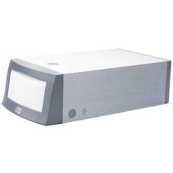Serviettenspender für Spender-Servietten 32x33cm (N1-System) Aluminium/Kunststoff grau