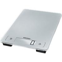 Soehnle Küchenwaage Page Aqua Proof Digitale Wägebereich (max.)=10kg Silber-Grau