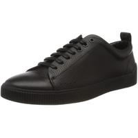 HUGO BOSS HUGO Herren Zero_Tenn_gr Sneaker, Schwarz (Black 001), 42 EU