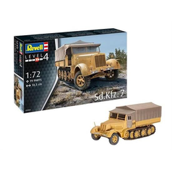 Revell Zugmaschinen Plastik Bausatz Sd.Kfz. 7 (Late Production) / 03263