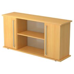 KAPA SB | Sideboard | mit Türen - Buche Sideboard Chromgriff Metall