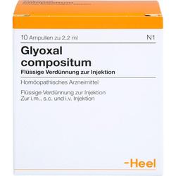 GLYOXAL compositum Ampullen 10 St.