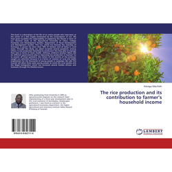 The rice production and its contribution to farmer's household income als Buch von Koivogui Siba Kolin