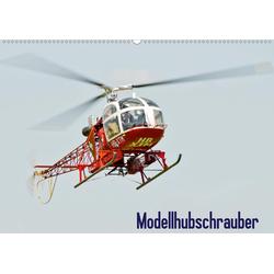 Modellhubschrauber (Wandkalender 2021 DIN A2 quer)