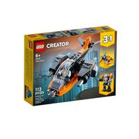 Lego Creator 3 in 1 Cyber-Drohne 31111