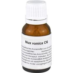 NUX VOMICA C 6 Globuli 15 g