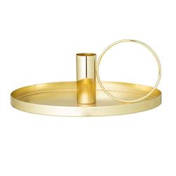 Bloomingville Shiny Kerzenhalter - Gold