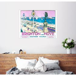 Posterlounge Wandbild, Brighton und Hove (englisch) 130 cm x 100 cm