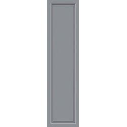 KM MEETH ZAUN GMBH Seitenteile S04, für Alu-Haustür, BxH: 50x208 cm, grau grau