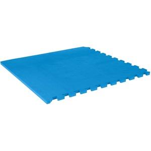 Vario-Step Gymnastikmatte Bodenmatte Sportmatte, Fitnessmatte 60x60 cm, BLAU
