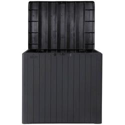 ONDIS24 Gartenbox City Box, Sitztruhe aus Kunststoff, 113 Liter, UV-beständig