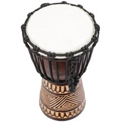 Guru-Shop Spielzeug-Musikinstrument Holztrommel, Percussion Rhythmus Klang..