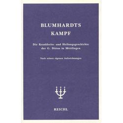 Blumhardts Kampf als Buch von Christoph Blumhardt