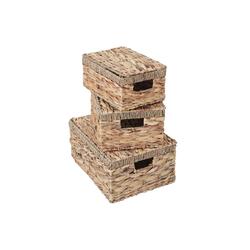 MCW Aufbewahrungsbox MCW-C23 (Set, 3 Stück, 3er-Set), 3er-Set, Ineinander stapelbar
