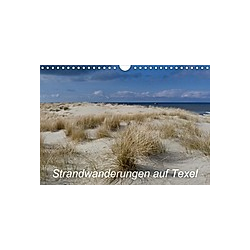 Strandwanderungen auf Texel (Wandkalender 2021 DIN A4 quer)