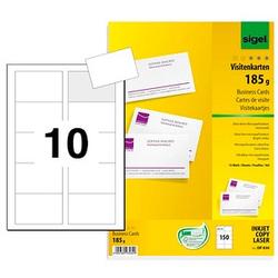 150 SIGEL Visitenkarten DP830 weiß