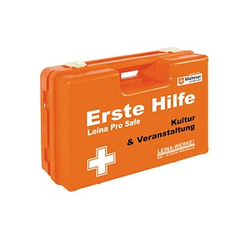LEINA-WERKE Erste-Hilfe-Koffer Pro Safe Kultur & Veranstaltung DIN 13157 orange