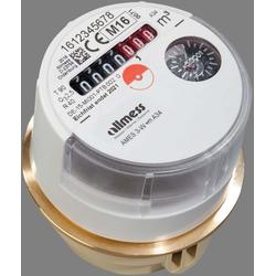 Allmess Austauschwasserzähler 0203212206 3-W +m, Q3 2,5, DN 15, warm bis 90 °C