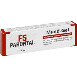 Parontal F5 Mundgel