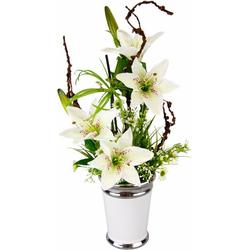 Kunstpflanze Lilien Lilien, I.GE.A., Höhe 55 cm