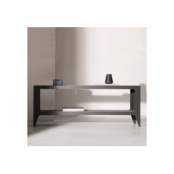 WYE Lowboard Lowboard, chamfer, nachhaltiges Möbeldesign grau