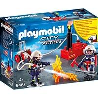 Playmobil City Action Feuerwehrmänner mit Löschpumpe 9468