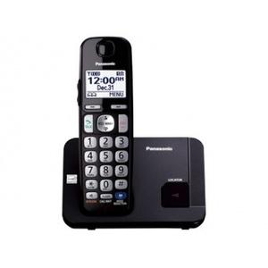 Panasonic KX-TGC210, DECT, Polyphonic, Schwarz, Tisch/Bank, Mobilteil, Digital