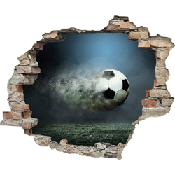 Wandtattoo »Fußball« (1 Stück), Wandtattoos, 30452864-0 bunt 60x0,1x50 cm bunt