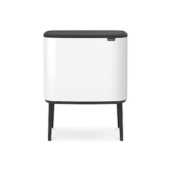 Brabantia Bo Touch Bin, 3 x 11L, Weiß