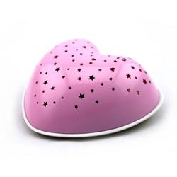 Niermann Nachtlicht Solar Heart 80035 Nachtlicht Herz LED Pink