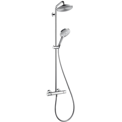 hansgrohe Showerpipe SELECT S 240 Air RAINDANCE DN 15 Kopfbrause Raindance, Ø 240 mm chrom